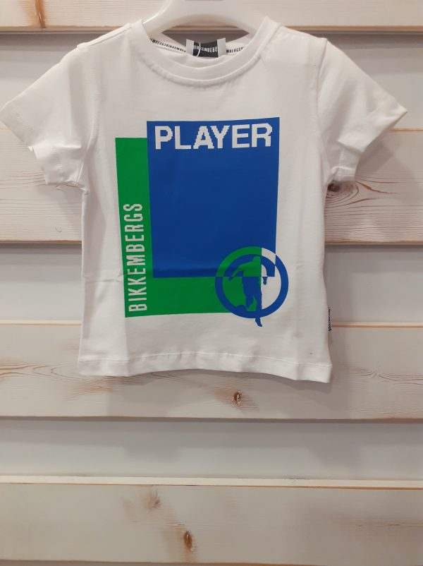 T-SHIRT PLAYER BIKKEMBERG